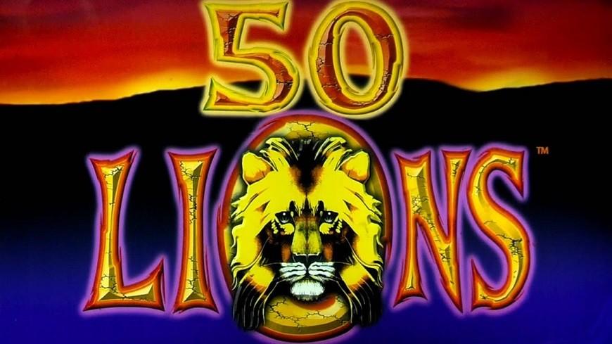 Free 50 lions slot machine