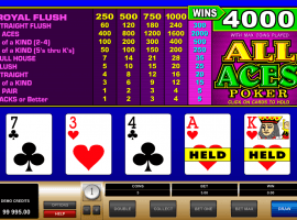 All Aces Poker Slot