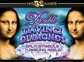 Double Davinci Diamonds Slot
